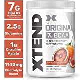 Scivation, Xtend Raw BCAAS, 30 Servings, No Artificial Colors, Flavors, or Sweeteners
