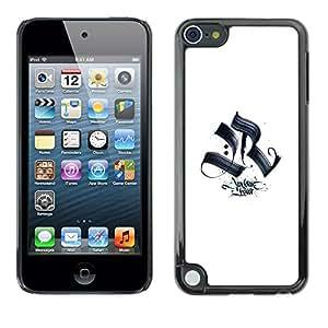 Be Good Phone Accessory // Dura Cáscara cubierta Protectora Caso Carcasa Funda de Protección para Apple iPod Touch 5 // AR why