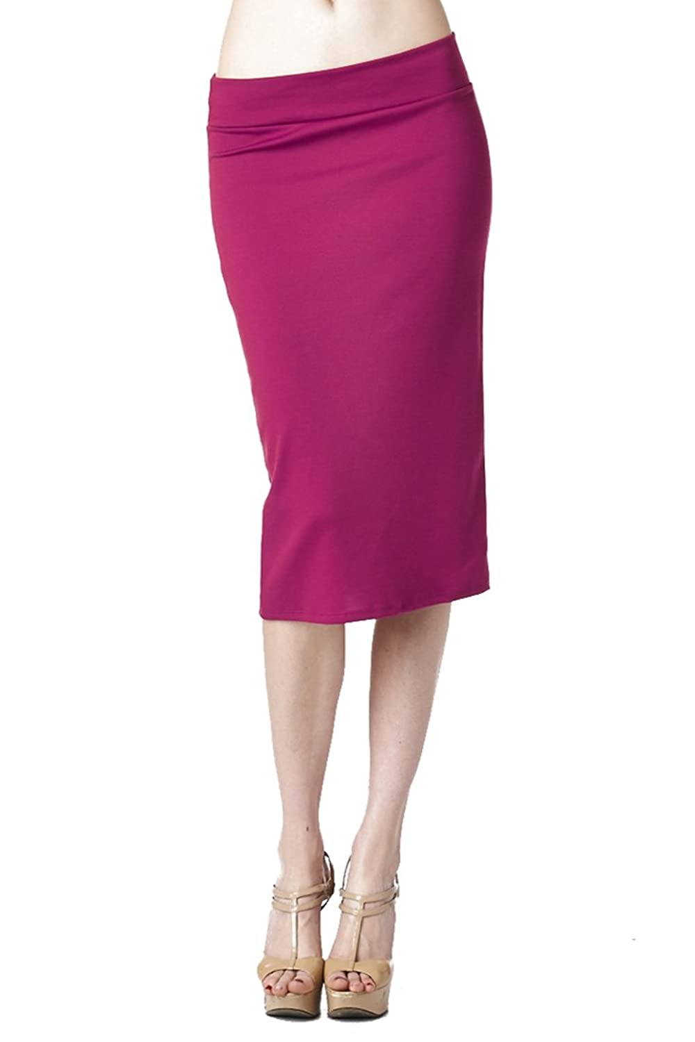 82 Days Women'S Casual To Office Wear Below Knee Various Style Of Skirts