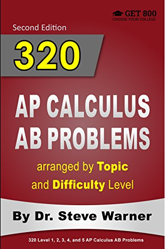 Amazon 320 ap calculus ab problems arranged by topic and 320 ap calculus ab problems arranged by topic and difficulty level 2nd edition 160 fandeluxe Images