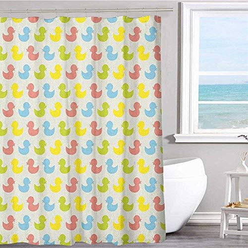 Pattern printed shower curtain 60