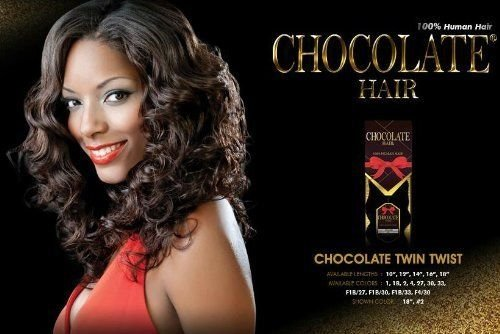Amazon chocolate twin twist 10 everbeauty chocolate 100 amazon chocolate twin twist 10 everbeauty chocolate 100 human hair weave extension 1b hair replacement wigs beauty pmusecretfo Image collections