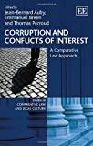 img - for Corruption and Conflicts of Interest: A Comparative Law Approach (Studies in Comparative Law and Legal Culture series) book / textbook / text book