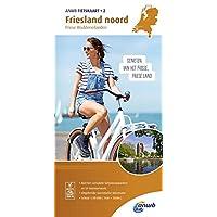 Radwanderkarte 02 Friesland noord, Friese Waddeneilanden 1:50 000 (ANWB fietskaart (2))