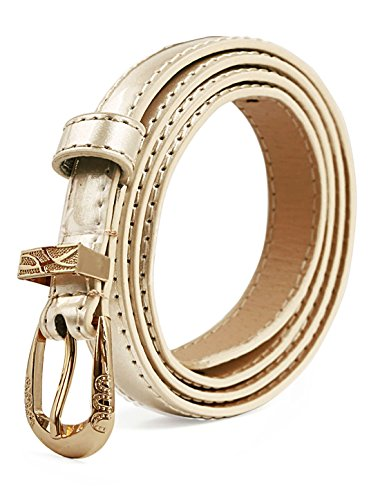 uxcell Women Single Buckle Patent