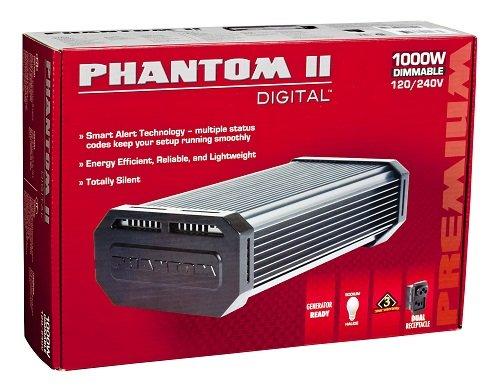 Phantom II 1000W Digital Ballast, 120/240V Dimmable by Phantom
