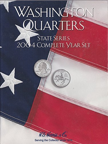 Harris Coin Folder - State Series Quarters Complete Year 2004 Re#8HRS2587