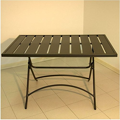 Amicasa. Mesa Plegable de jardín 120 x 80 cm Modelo Smarty: Amazon ...
