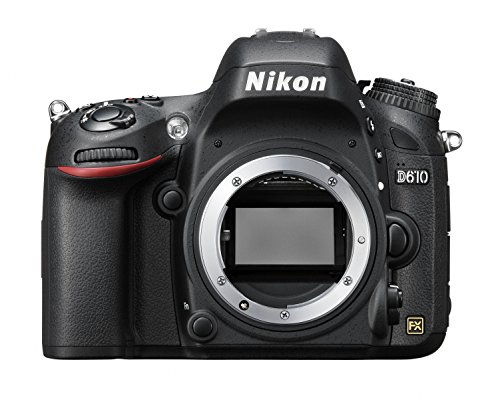 Nikon D610 24.3 MP CMOS FX-Format Digital SLR Camera (Body Only) International Version (No warranty)
