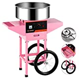 Cotton Candy Machine cart -Nurxiovo Electric Commercial Candy Floss...