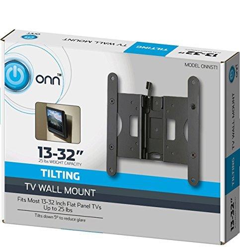 ONN tilting tv wall mount (Refurbished Flat Panel Tvs)