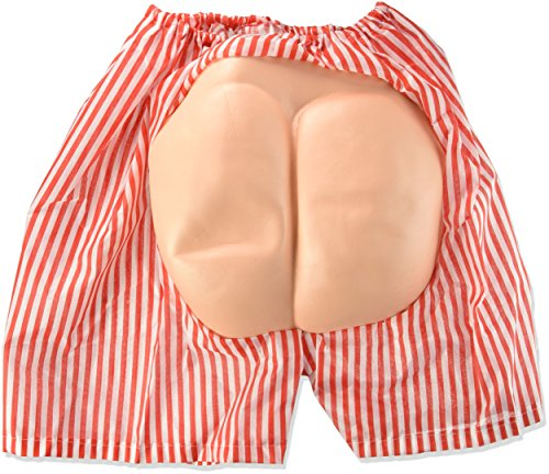 Short Shorts Costume For Men (Forum Novelties Men's Novelty Bum Shorts, Multi, One Size)