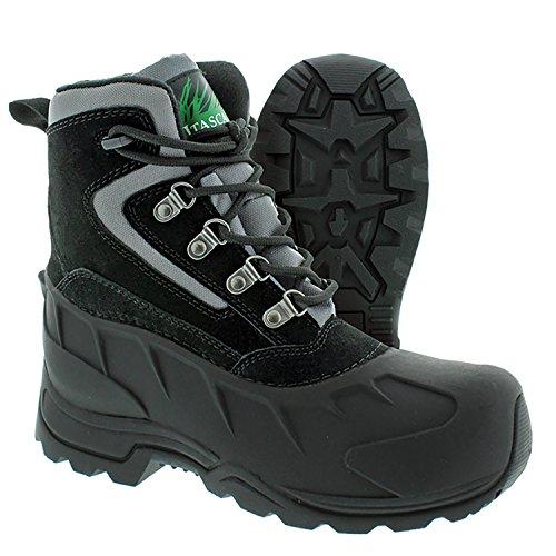 Itasca Women's Lutsen Winter Boots, Black, Size 11 Snow M US ()