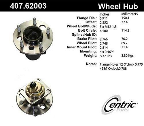 Wheel Hub Assembly Centric 407.62003E