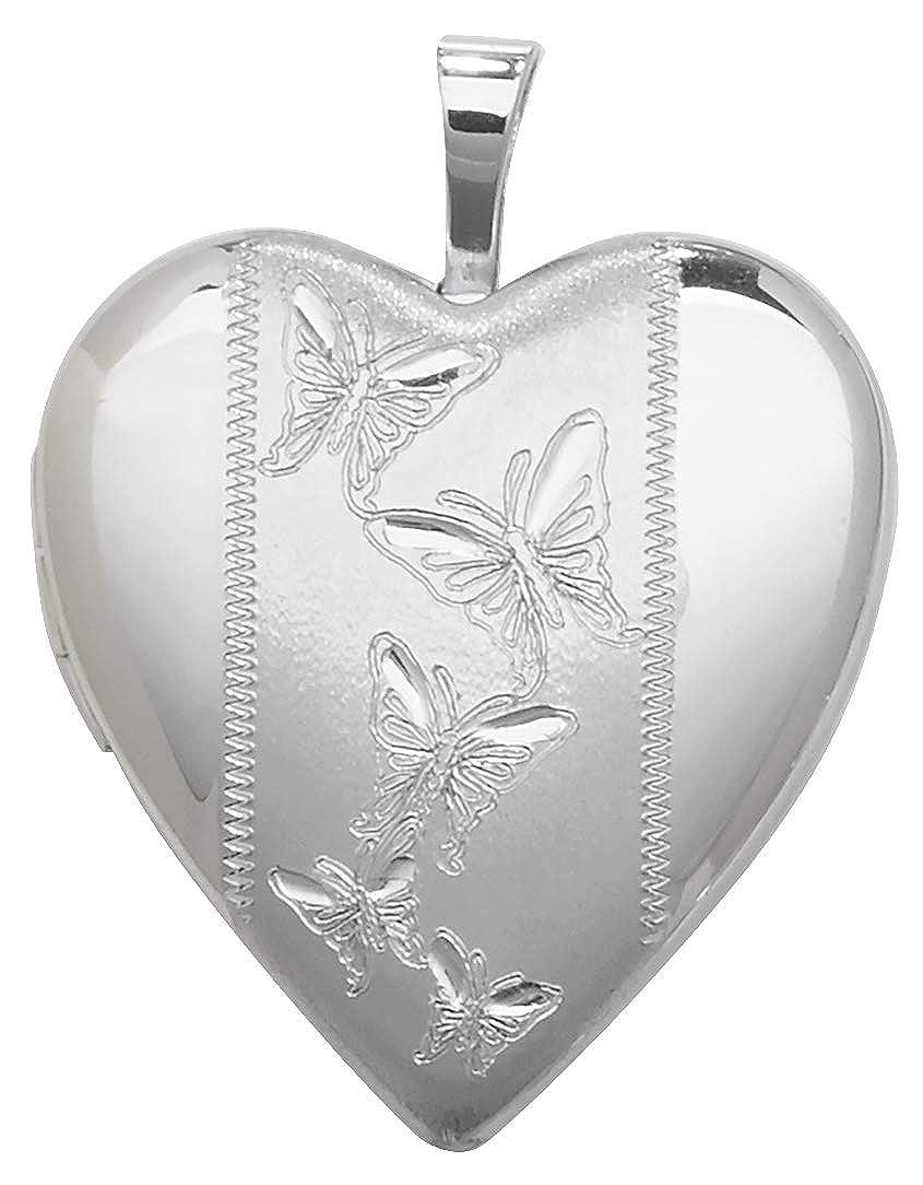 Médaillon Femme Coeur Argent fin 925-25mm*20mm WJS14146
