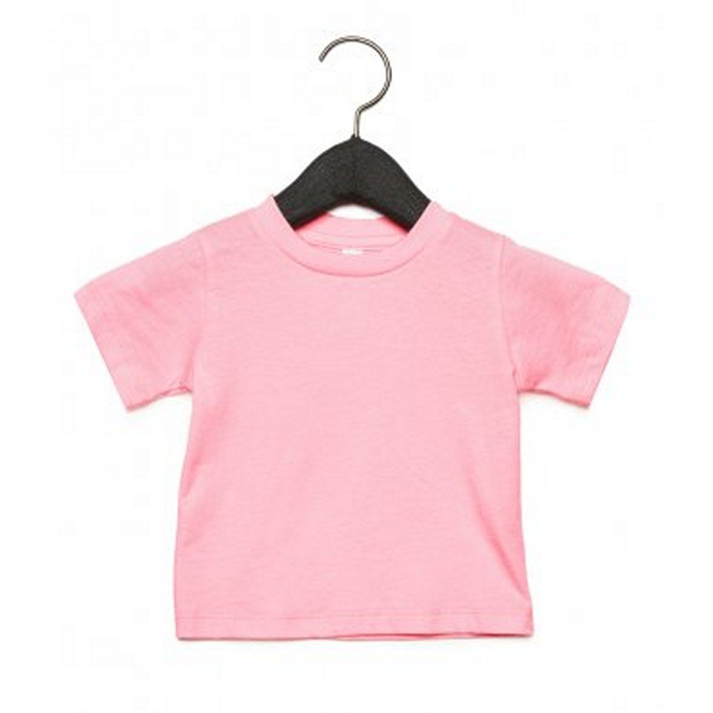 Bella Canvas Camiseta de Manga Corta con Cuello Redondo Para Beb/é