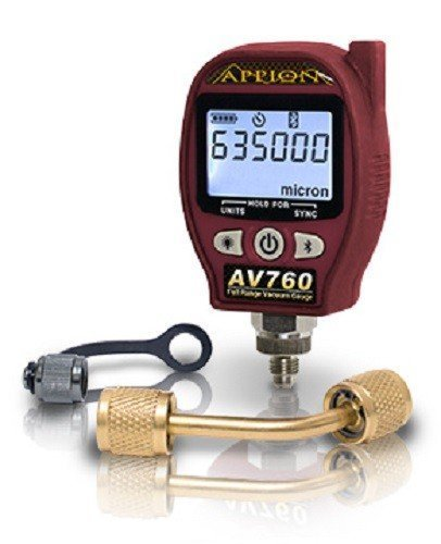 Appion AV760 Full Range Digital Vacuum Gauge ()