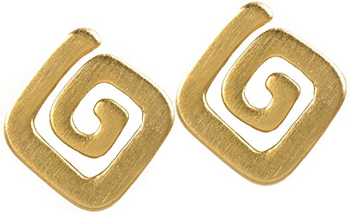 Reproduction of the Pre Columbian Spiral Earrings, Our Museum Store