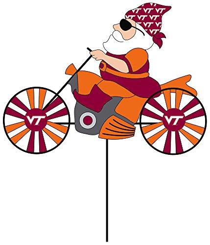 Spinner Cycle (NCAA Virginia Tech Motorcycle Wind Spinner)