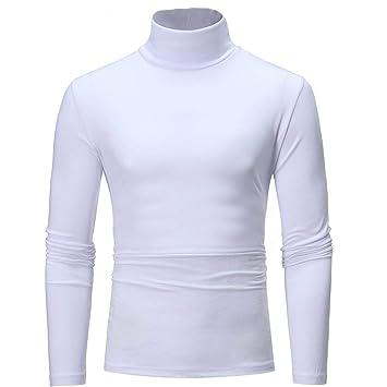 Amazon.com: Giuoke - Camiseta de manga larga para hombre ...