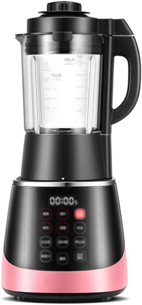 Blender 1100W, Professional Countertop Blender Smoothie Maker with BPA Free glass Container, High Speed Power Blender Built-in Timer for Crusing Ice, Frozen Desser