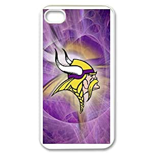iPhone 4,4S Phone Case Minnesota Vikings Logo W66MV71220