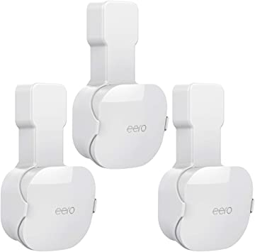 COOLWUFAN Screwless Wall Mount Holder for eero mesh WiFi System ...