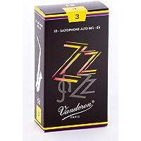 Vandoren SR413 - Caja de 10 cañas zz n.3 para saxofón alto