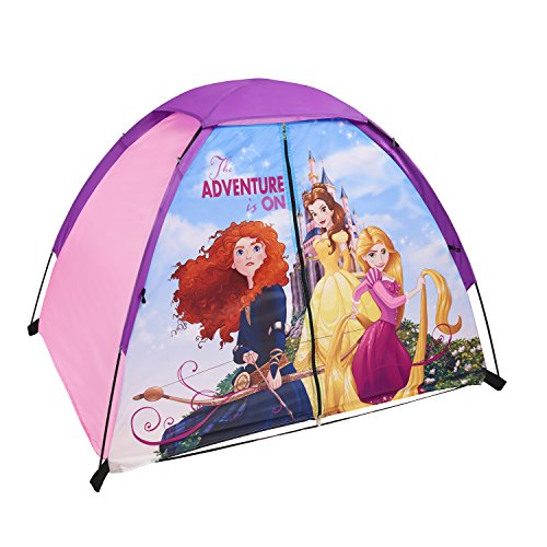 Exxel Outdoors Disney Princess Play Tent, Purple