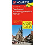 Freudenstadt - Rottenburg am Neckar - Rottweil: Fahrradkarte. GPS-genau. 1:70000 (KOMPASS-Fahrradkarten Deutschland, Band 3109)