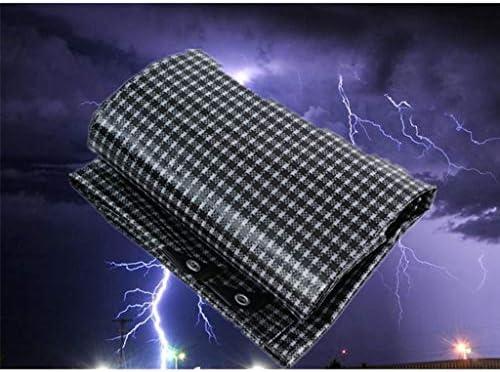 厚み付け防水ターポリンタープグランドシートカバーテント防雨日焼け止めヘビーデューティアウトドア、マルチサイズ、160G /M² B20/05/18 (Size : 3x4m)