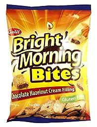 Bright Morning Chocolate/Hazelnut Bites, 1.1 Ounce (Pack of 48)