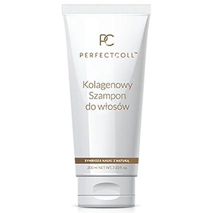 perfect-coll Colágeno Champú profundamente nutre suave cleanshing cuidado del cabello natural orgánico 200 ml