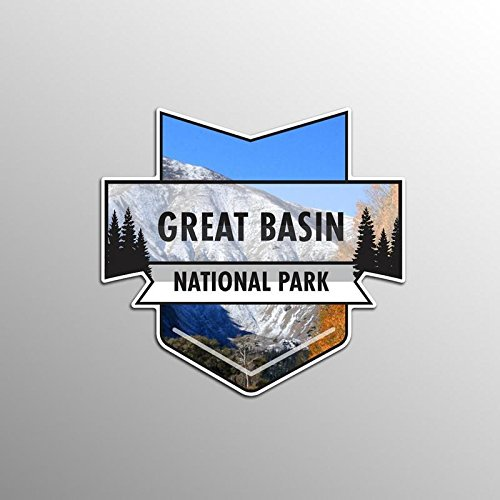 - JMM Industries Great Basin National Park Vinyl Decal Sticker Car Window Bumper 2-Pack 4.7-Inches by 4.4-Inches Premium Quality UV Protective Laminate NPS026