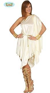 FIESTAS GUIRCA Disfraz Corto Mujer Griega Diosa del Olimpo Talla m ...