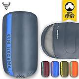 sleeping bag - Forbidden Road Sleeping Bag Single Sleeping Bag (5 Color) (Dark Blue, Single)