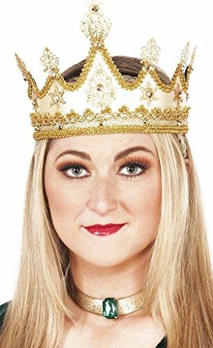 Medieval Golden Queen Crown