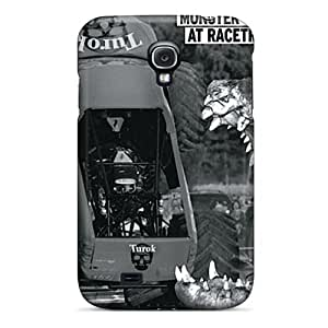 Edwave Snap On Hard Case Cover Monster At Racetrack Protector For Galaxy S4