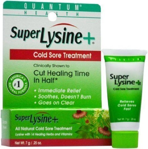 Super Lysine Plus Cold Sore Ointment-7g tube (Pack of 3)