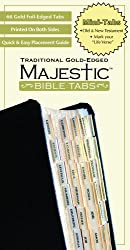 Majestic Traditional Gold Bible Tabs, Mini (Majestic Bible Tabs (Mini))
