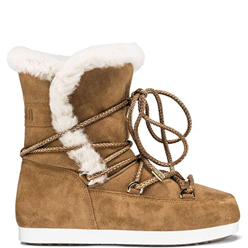 Camel Side Stivales Beige Moon Boot 37 Far qIwBOFZUR