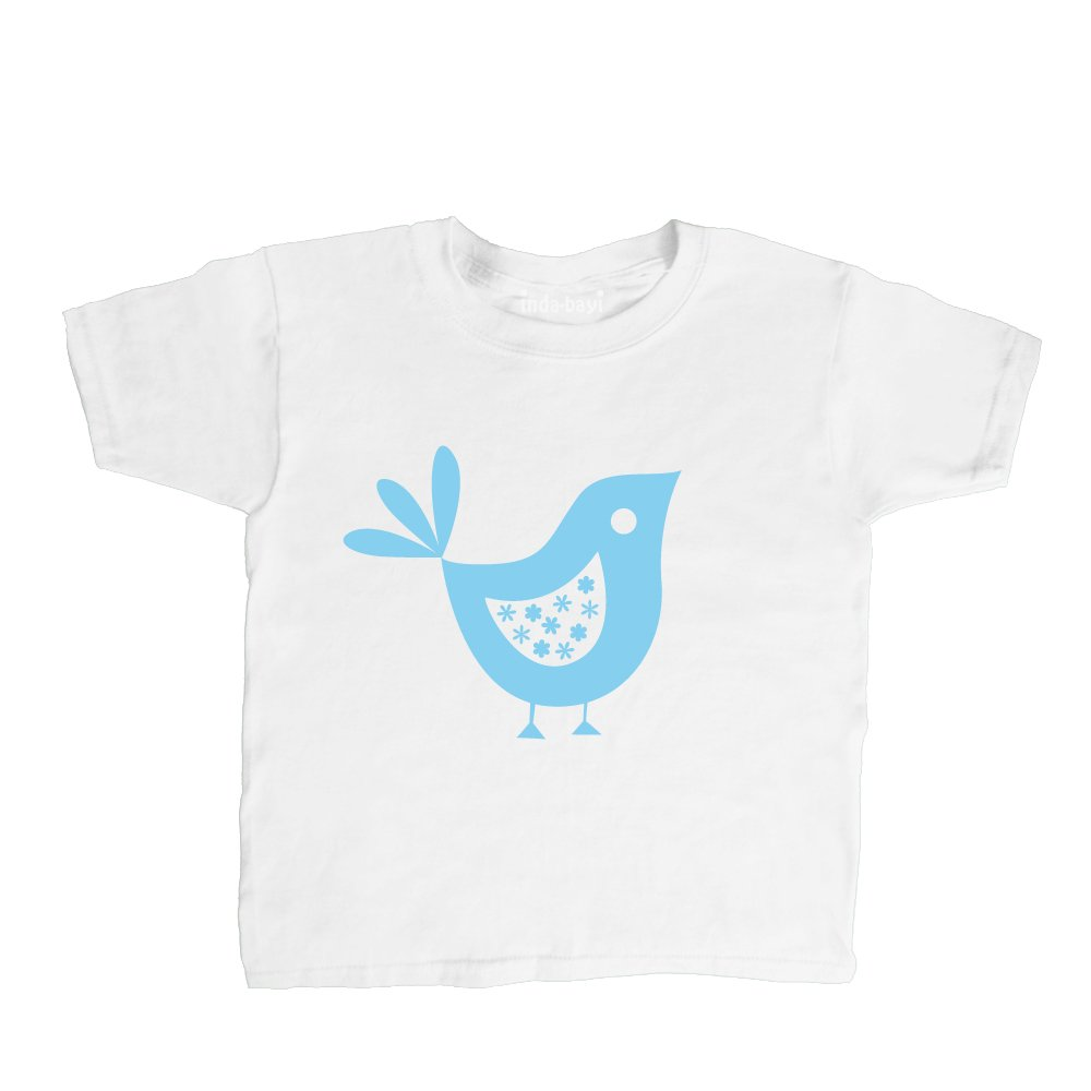 Inda-Bayi Baby-Toddler-Kids Cotton T Shirt - Little Bird