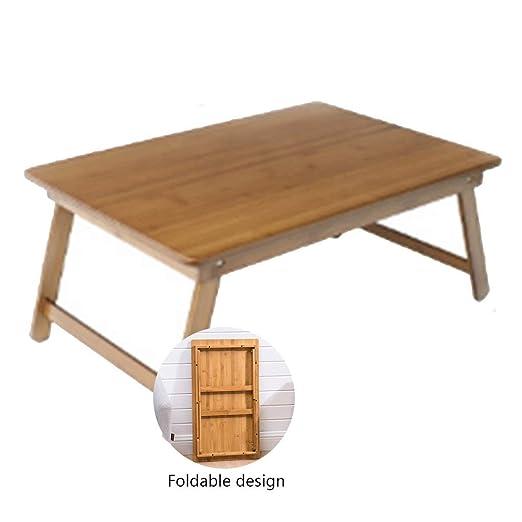 Mesa Sofa Escritorio De La Computadora De Bambú Cama Escritorio ...