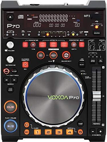 Reproductor de DJ//USB//MIDI//CD//MP3 Voxoa P70