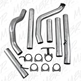 5 inch exhaust system - MBRP S6200PLM Single Side Turbo Back Exhaust System