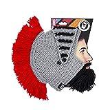 Beard Head - The Original Barbarian Knight Knit Beard Hat (Black)