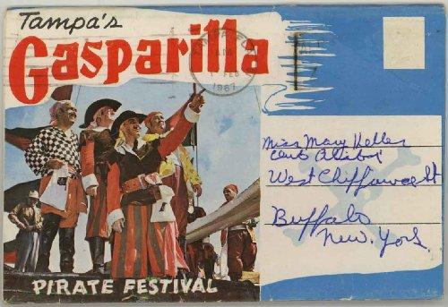 Gasparilla Pirate Festival (Gasparilla Pirate Festival Tampa (1960's Souvenir Florida Postcard Folder))