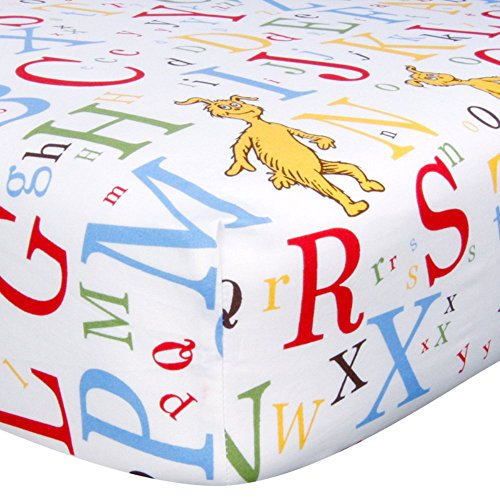 Trend Lab Dr Seuss Fitted Crib Sheet,