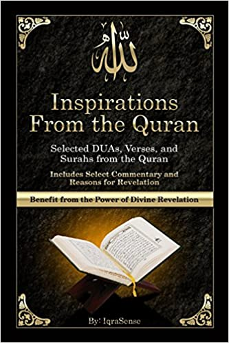 Inspirations from the Quran - Selected DUAs, Verses, and