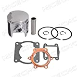 NICECNC 66mm Standard Bore Piston Rings & Gasket Kit for Yamaha 200 Blaster Standard Bore 1988-2006